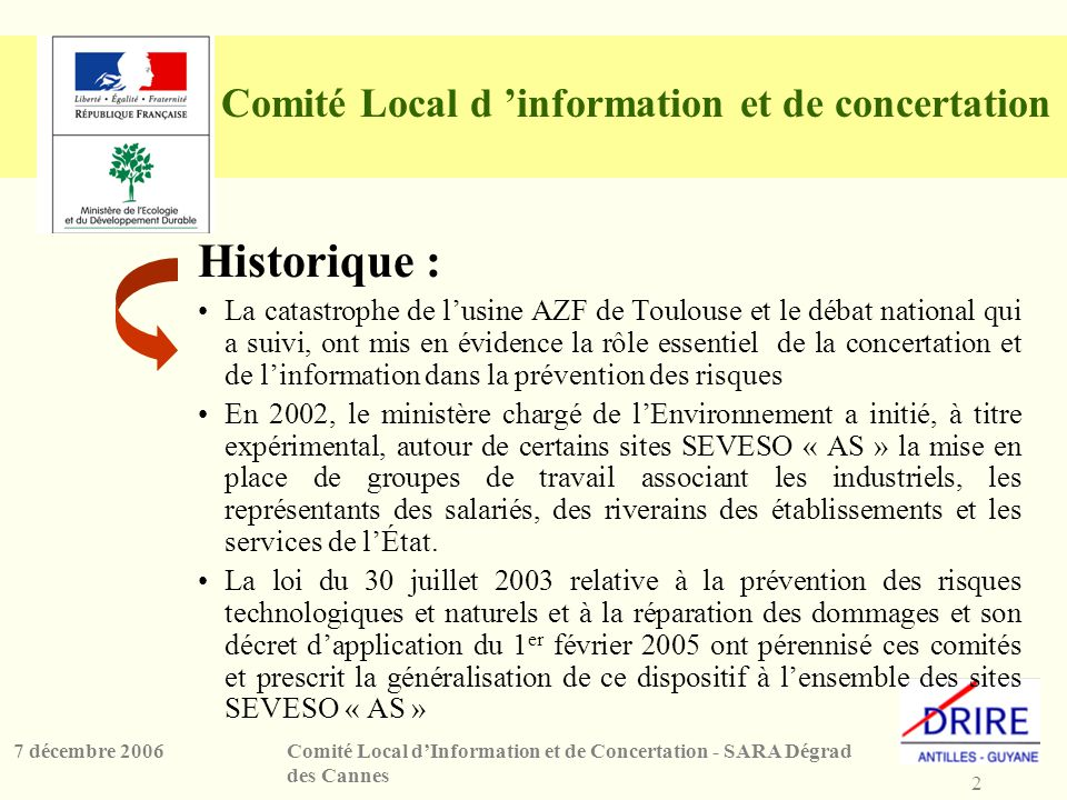 Comité Local d 'information et de concertation