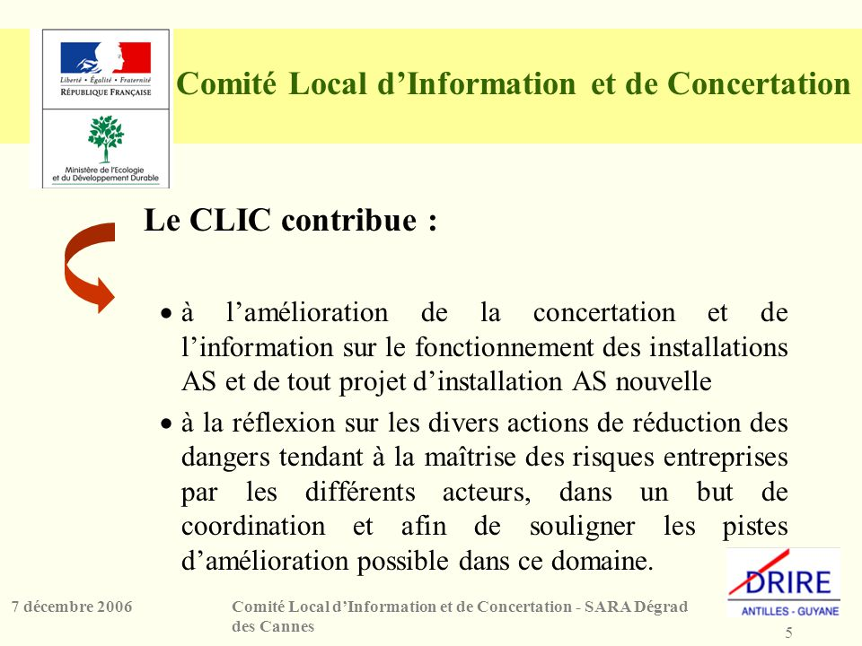 Comité Local d'Information et de Concertation