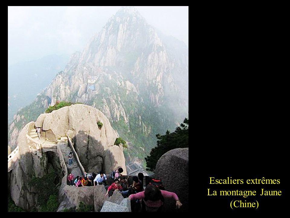 La montagne Jaune (Chine)