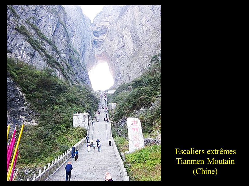 Tianmen Moutain (Chine)
