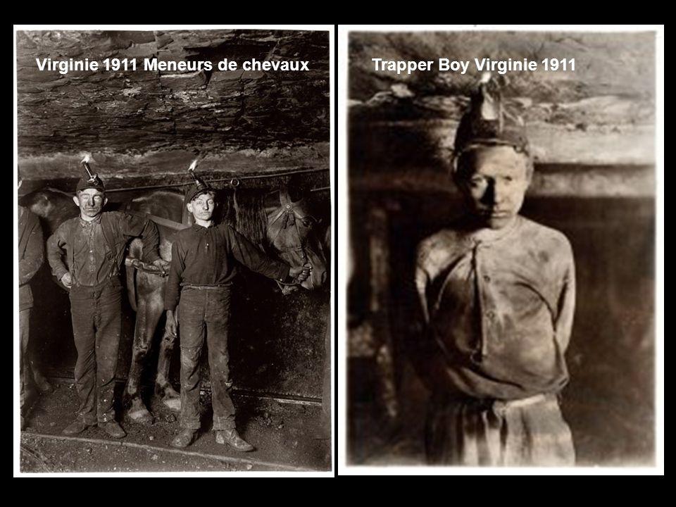 Virginie 1911 Meneurs de chevaux