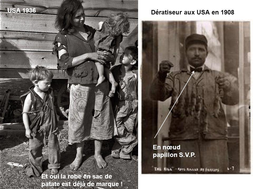 USA 1936 Dératiseur aux USA en 1908. En nœud papillon S.V.P.