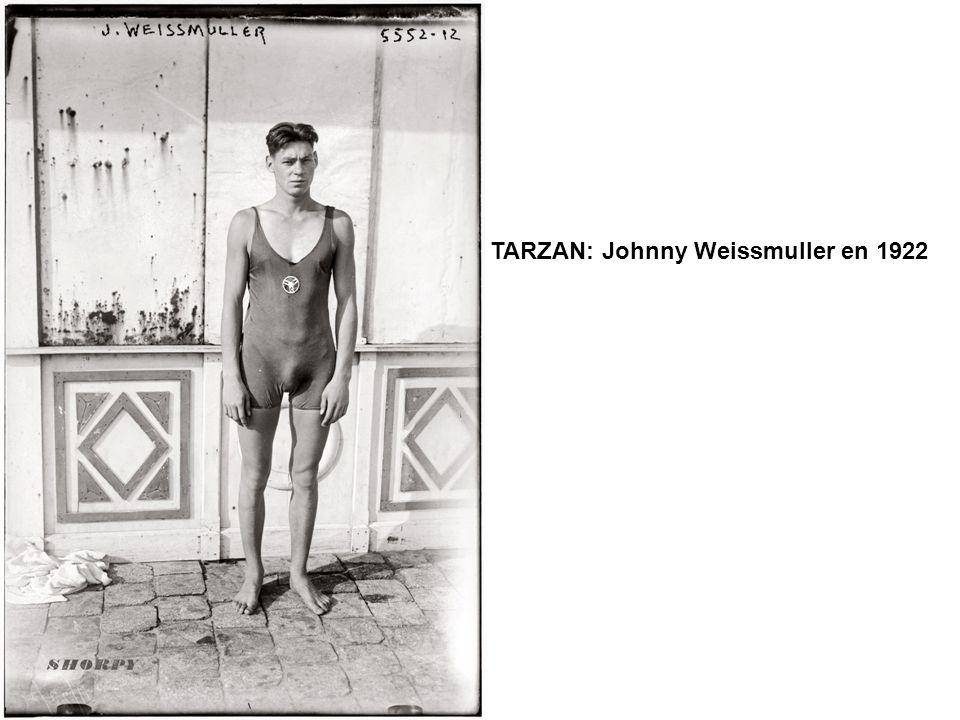 TARZAN: Johnny Weissmuller en 1922