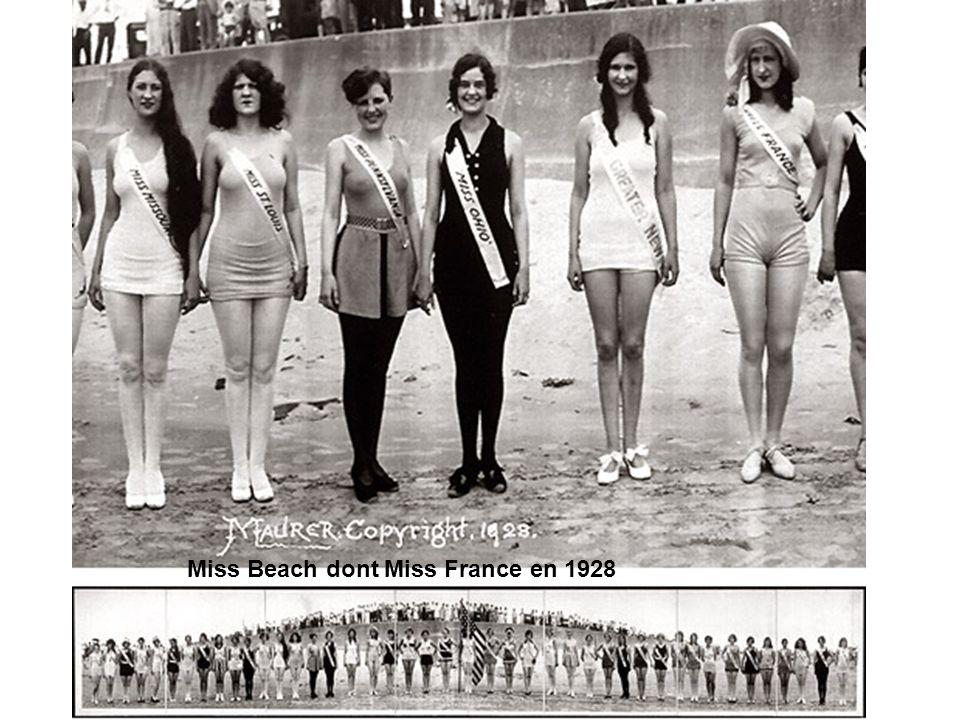 Miss Beach dont Miss France en 1928