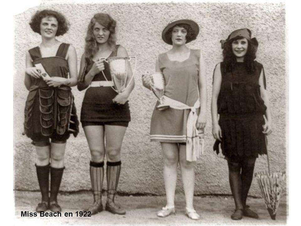 Miss Beach en 1922