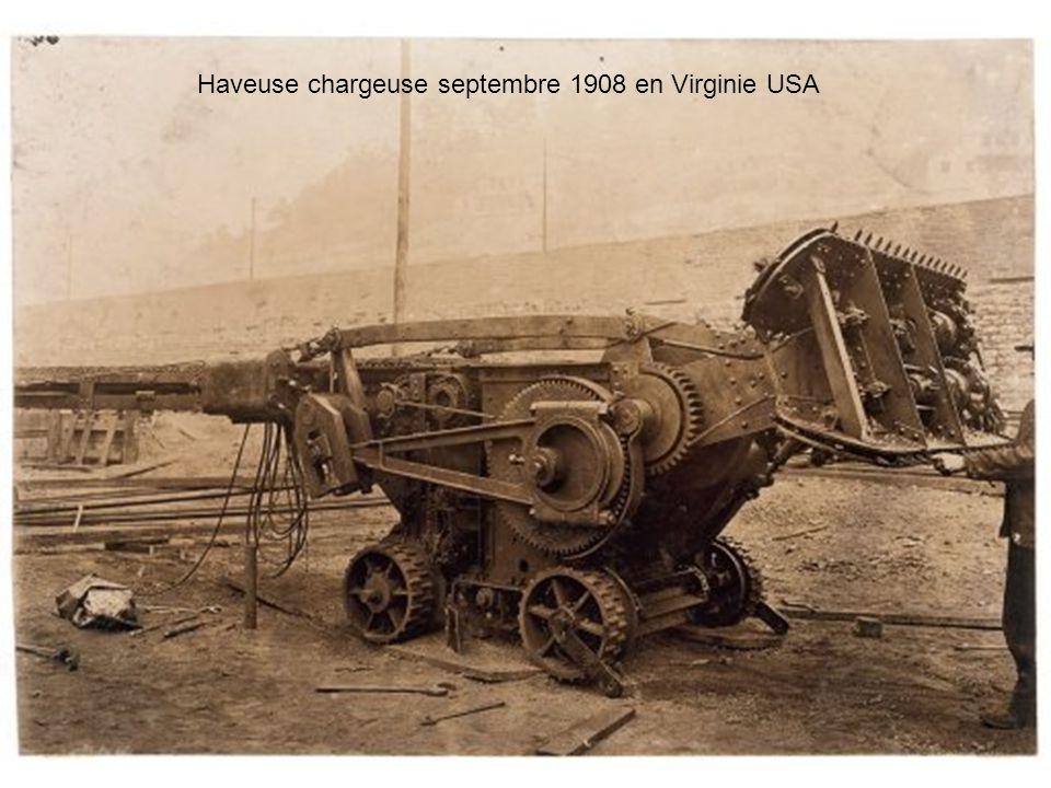 Haveuse chargeuse septembre 1908 en Virginie USA