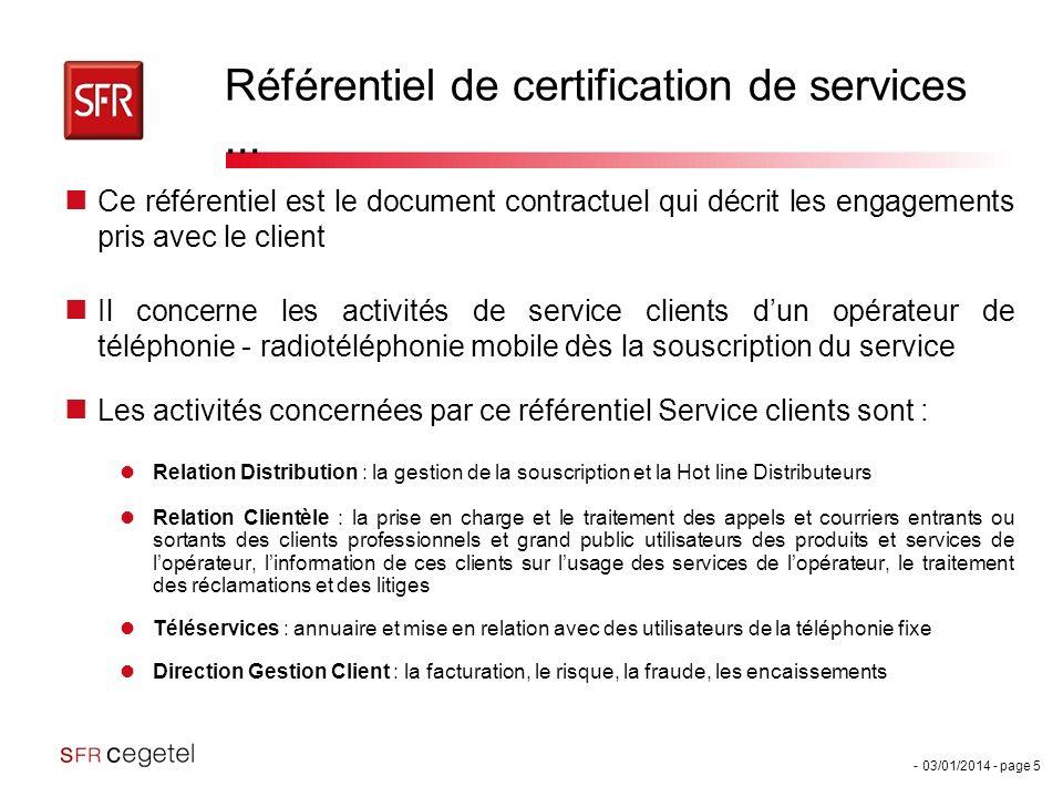 Référentiel de certification de services ...