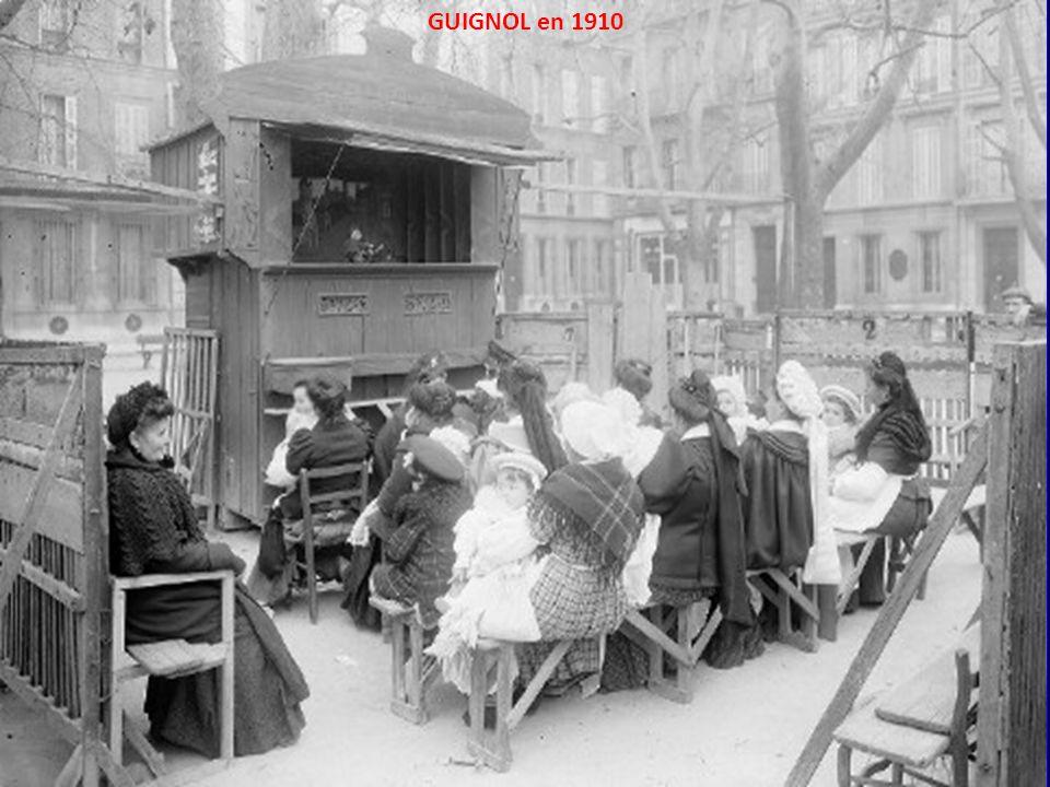 GUIGNOL en 1910