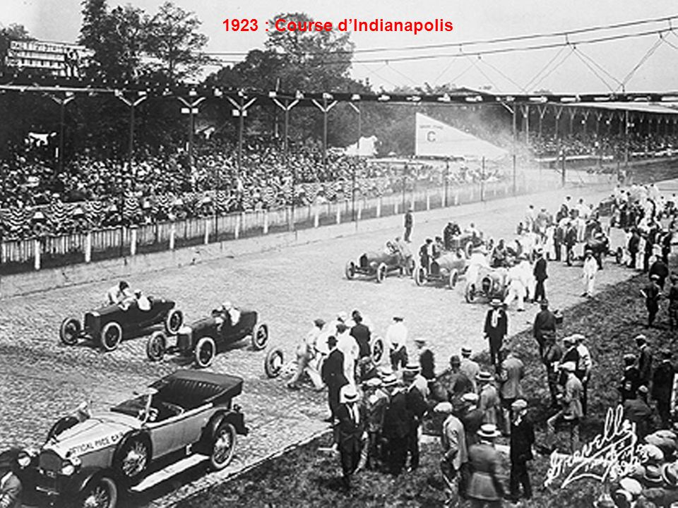 1923 : Course d'Indianapolis,