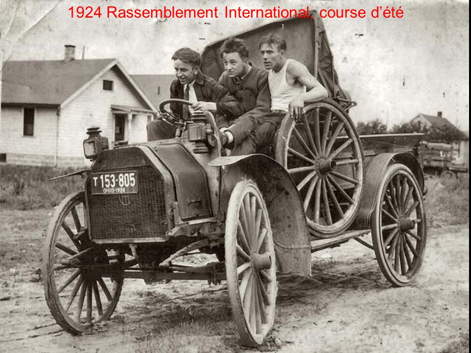 1924 Rassemblement International, course d'été