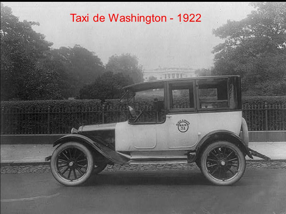 Taxi de Washington - 1922