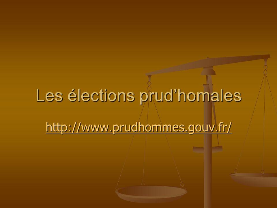 Les élections prud'homales