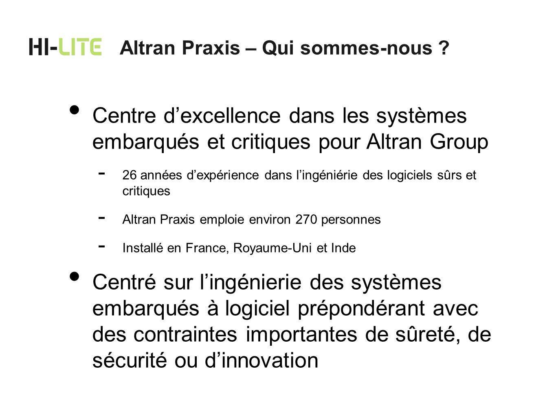 Altran Praxis – Qui sommes-nous