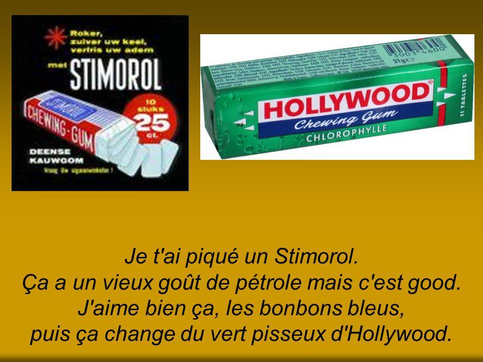 Je t ai piqué un Stimorol