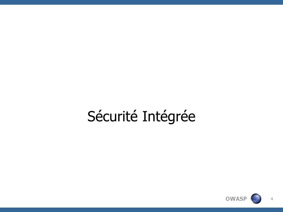 Sécurité Intégrée