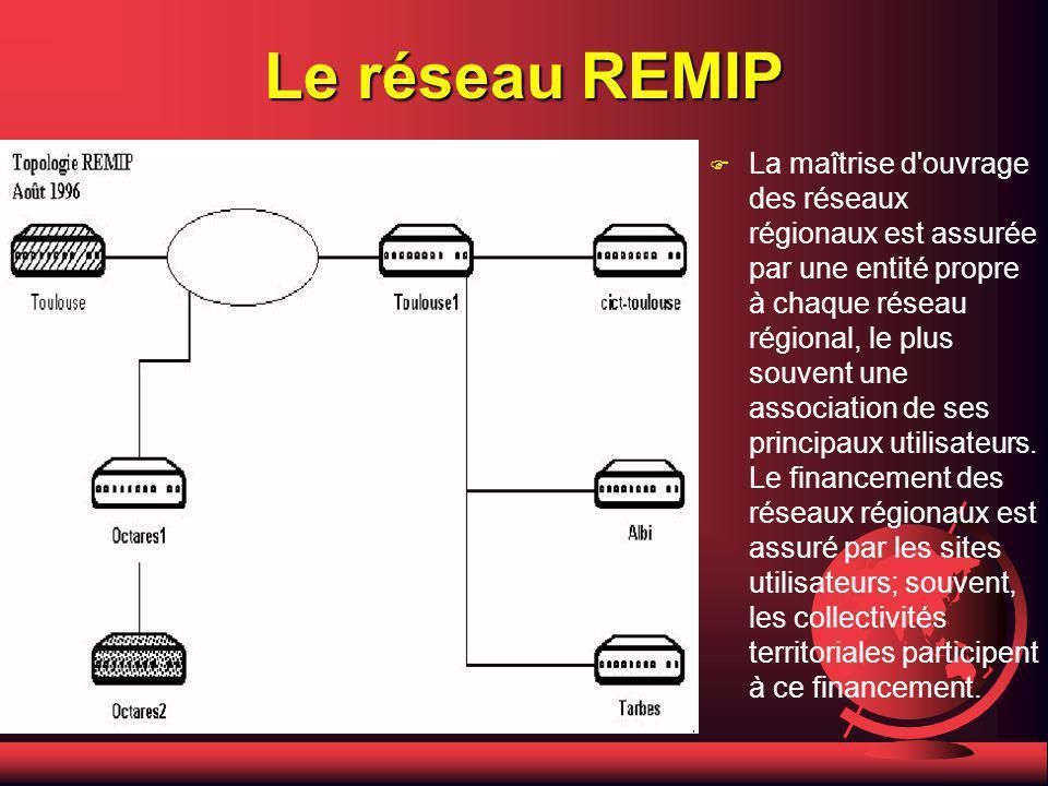 Le réseau REMIP