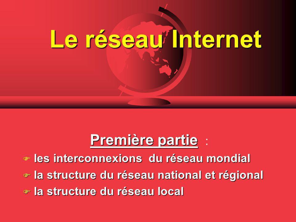 Le réseau Internet Première partie :