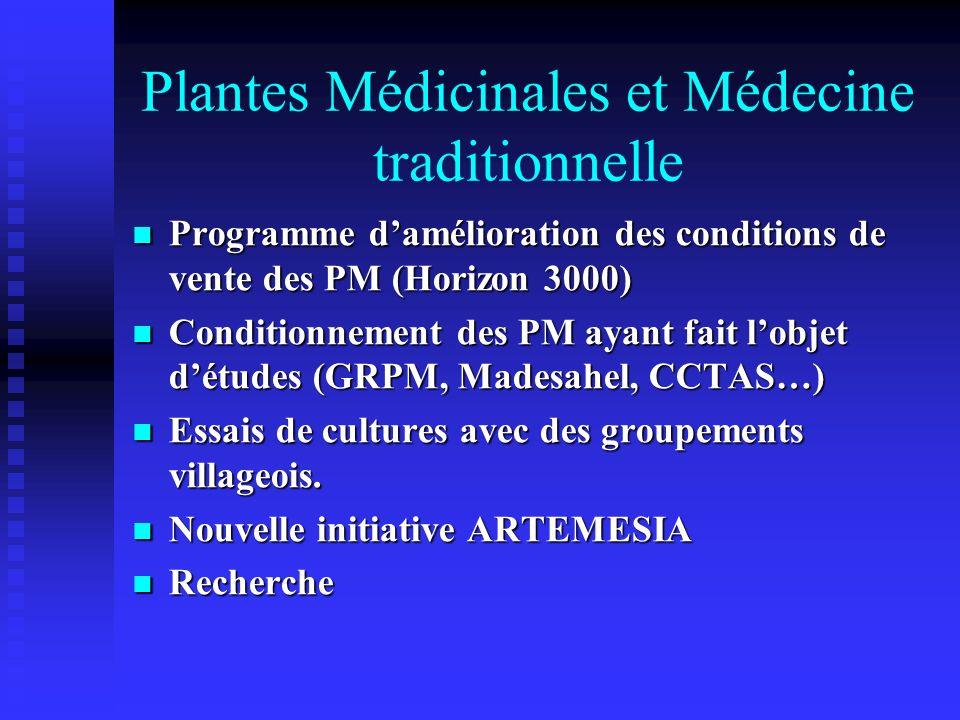 Plantes Médicinales et Médecine traditionnelle