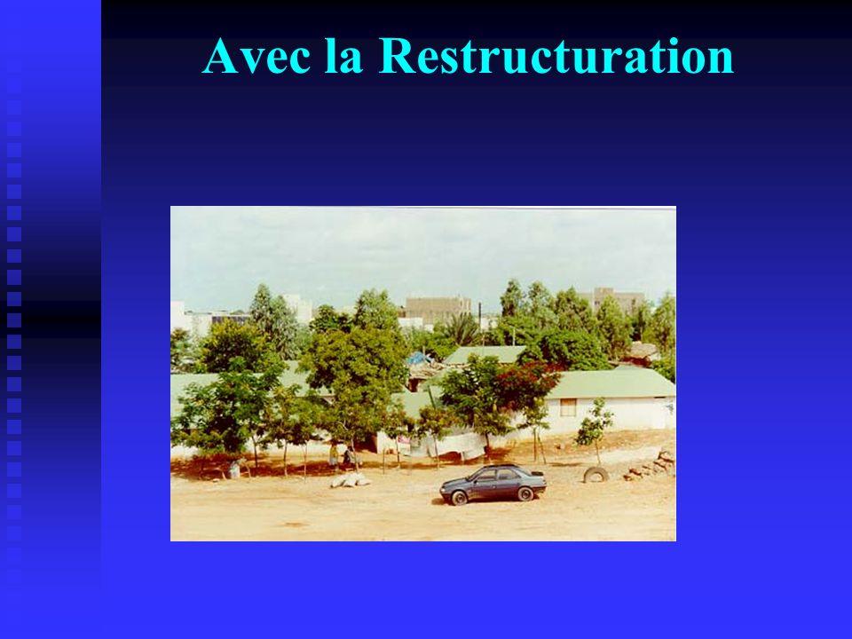 Avec la Restructuration