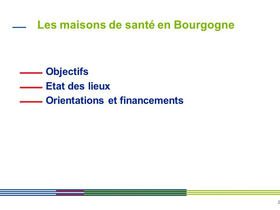 Les maisons de santé en Bourgogne