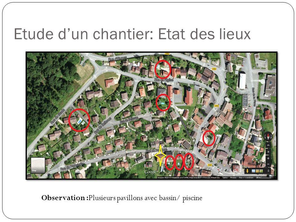 Etude d'un chantier: Etat des lieux