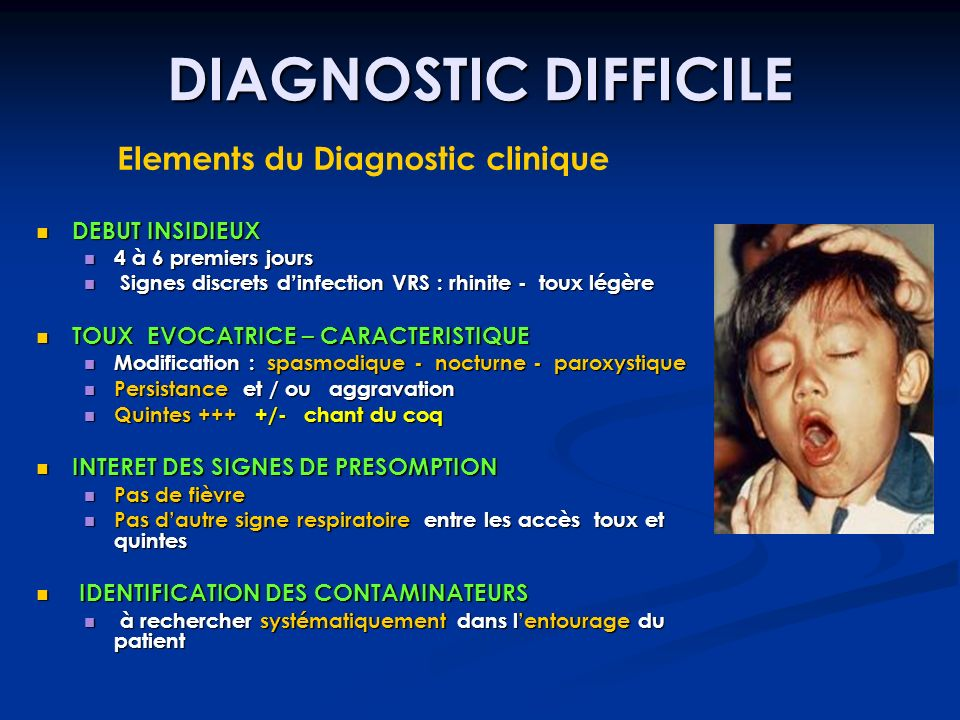 Elements du Diagnostic clinique