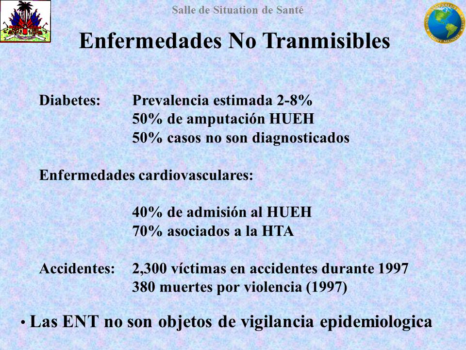 Enfermedades No Tranmisibles
