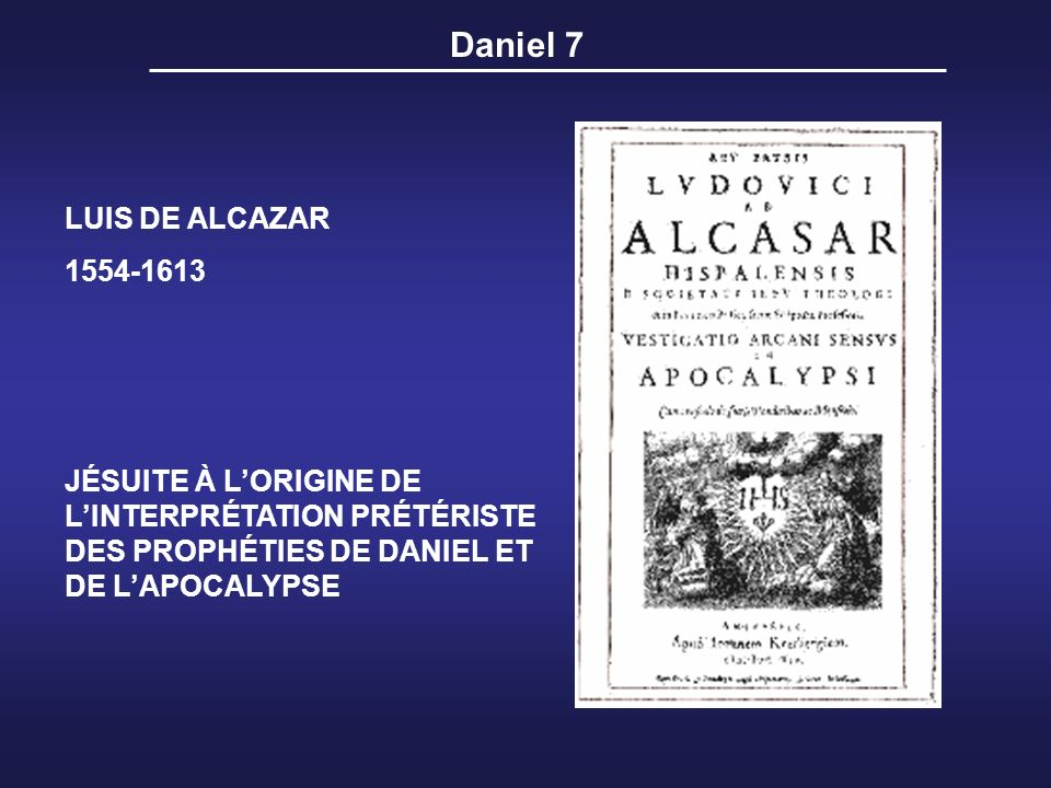 Daniel 7 LUIS DE ALCAZAR 1554-1613