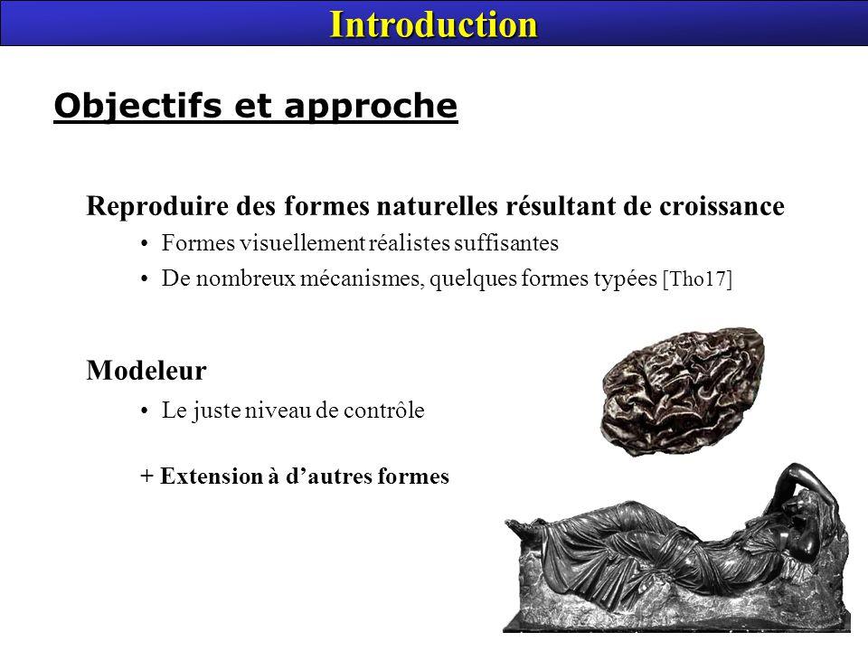 Introduction Modeleur Objectifs et approche