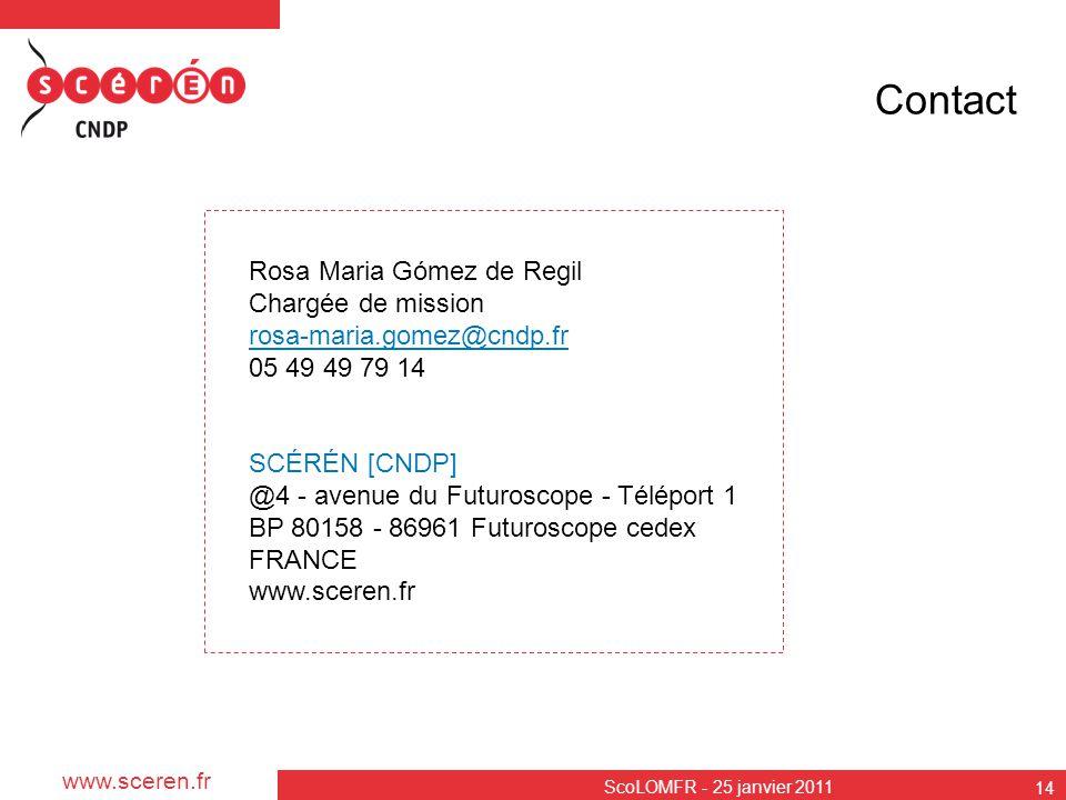 Contact Rosa Maria Gómez de Regil Chargée de mission