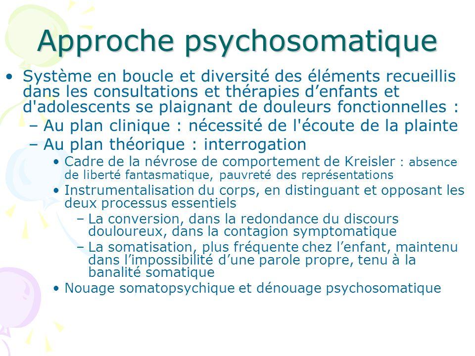 Approche psychosomatique