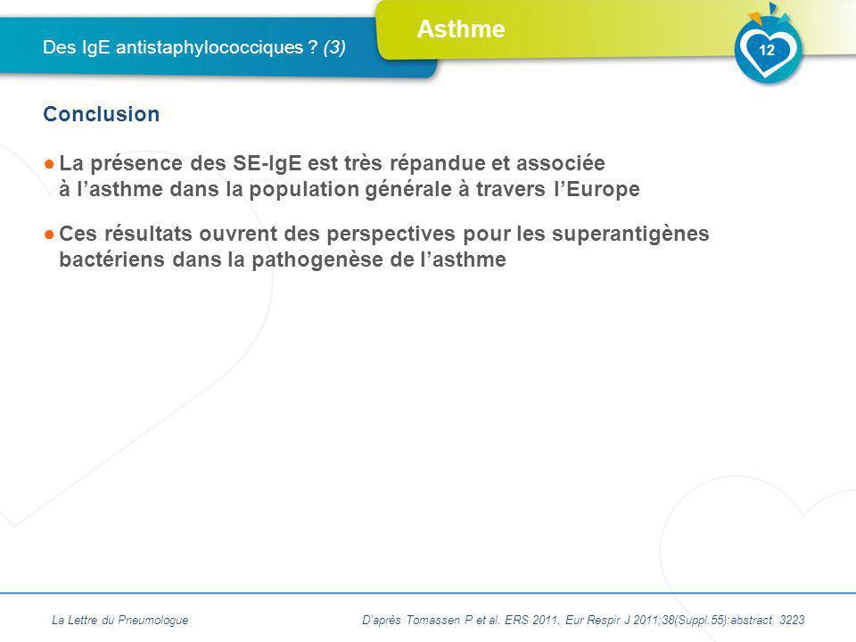 Des IgE antistaphylococciques (3)