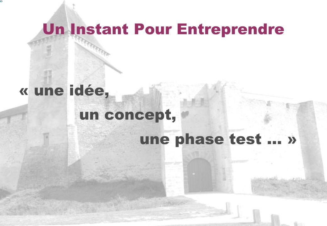 Un Instant Pour Entreprendre