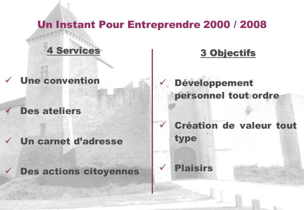 Un Instant Pour Entreprendre 2000 / 2008