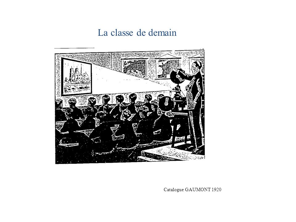 La classe de demain Catalogue GAUMONT 1920
