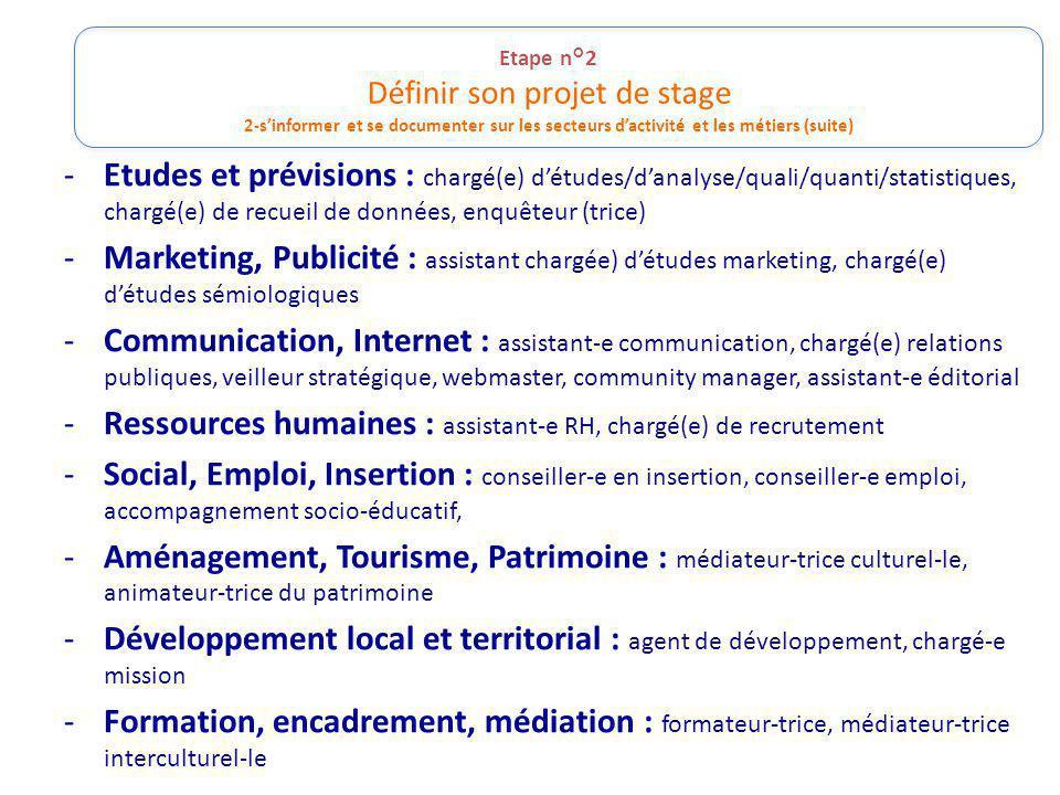 Ressources humaines : assistant-e RH, chargé(e) de recrutement