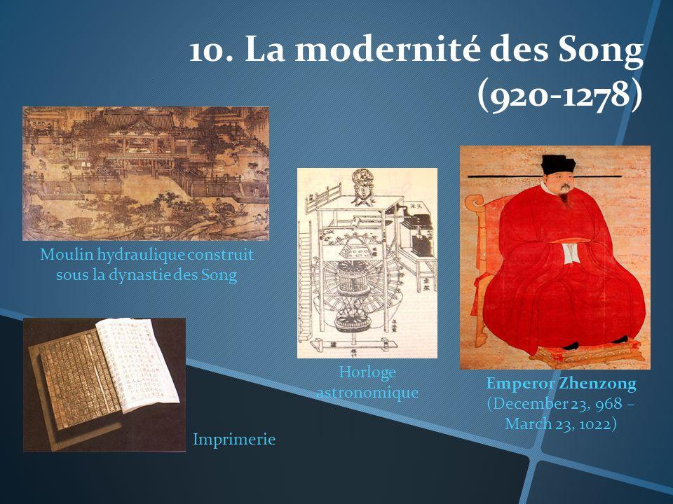 10. La modernité des Song (920-1278)
