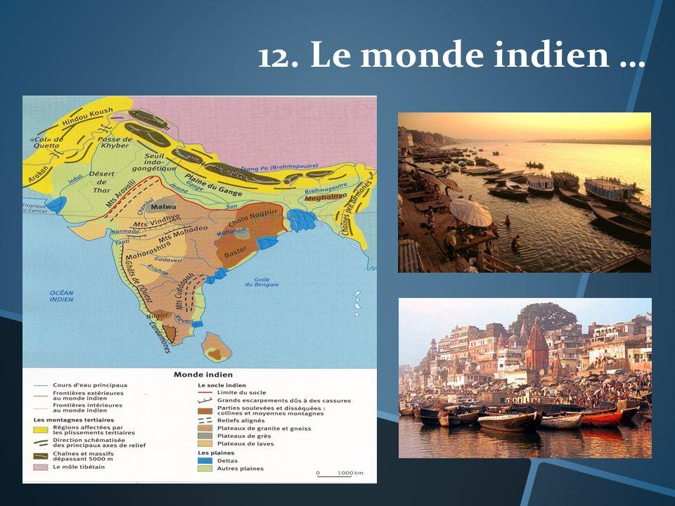 12. Le monde indien …