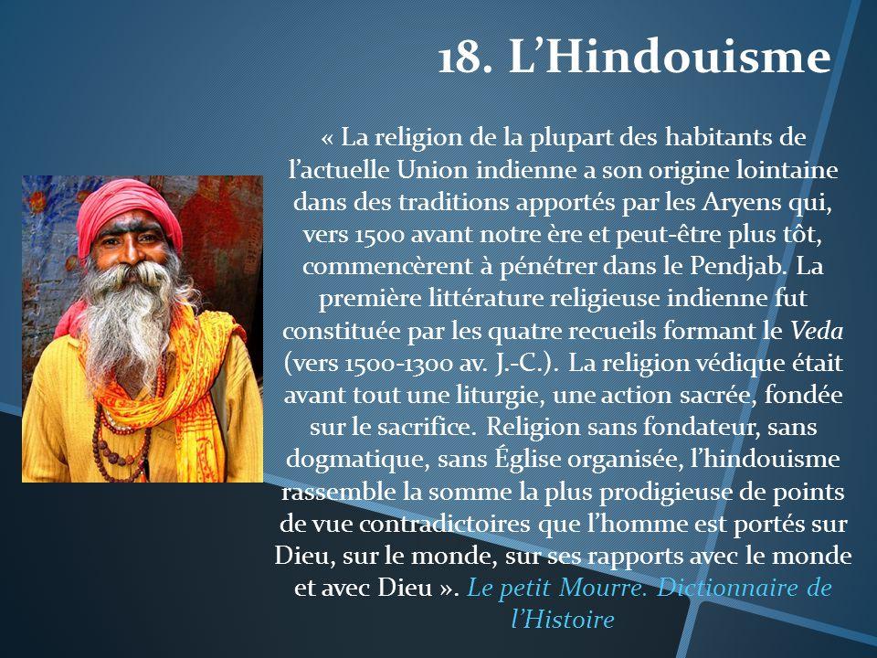 18. L'Hindouisme