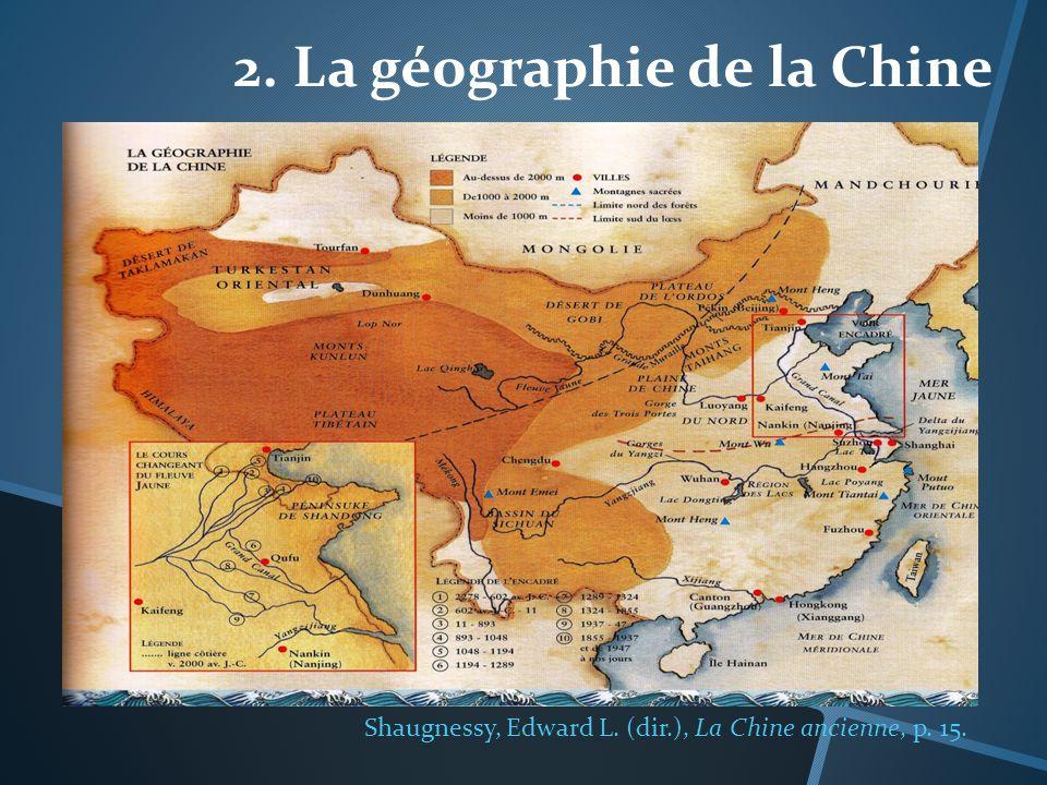 2. La géographie de la Chine