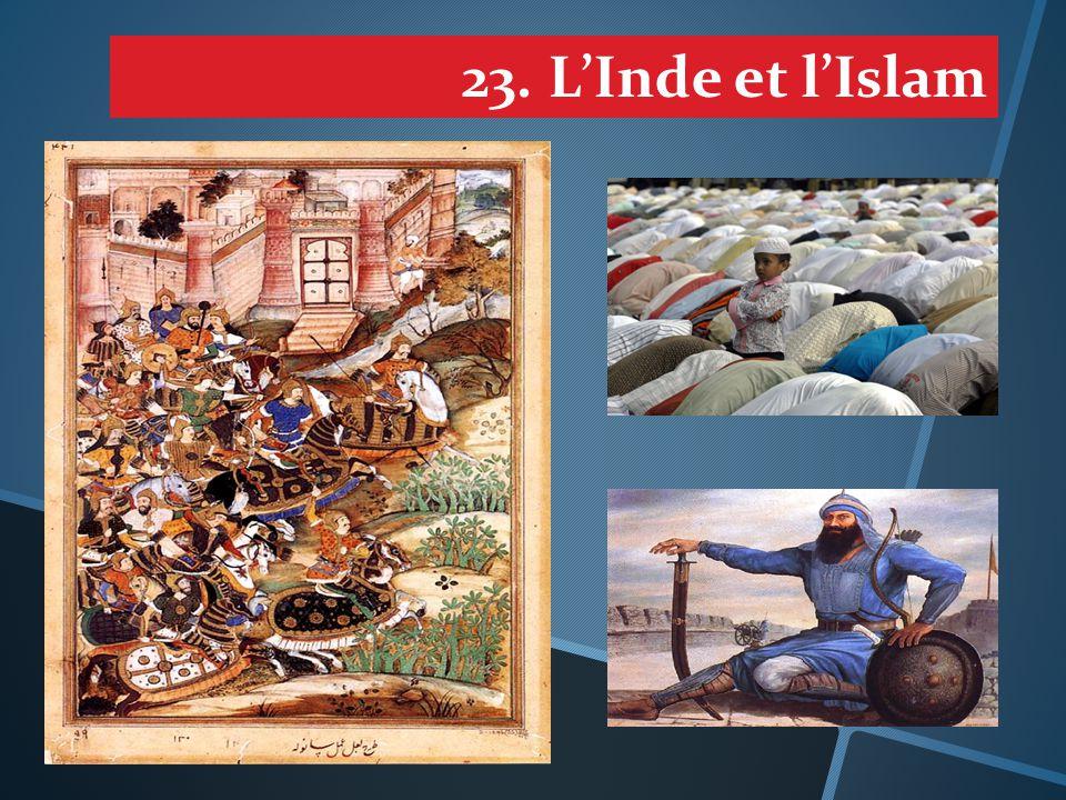 23. L'Inde et l'Islam