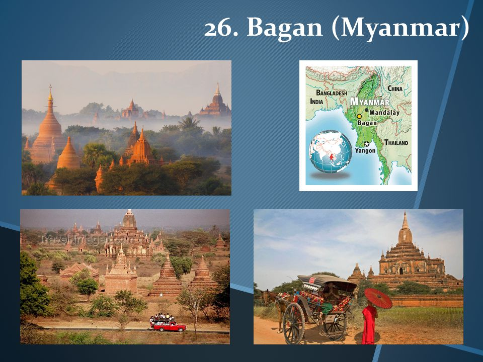26. Bagan (Myanmar)