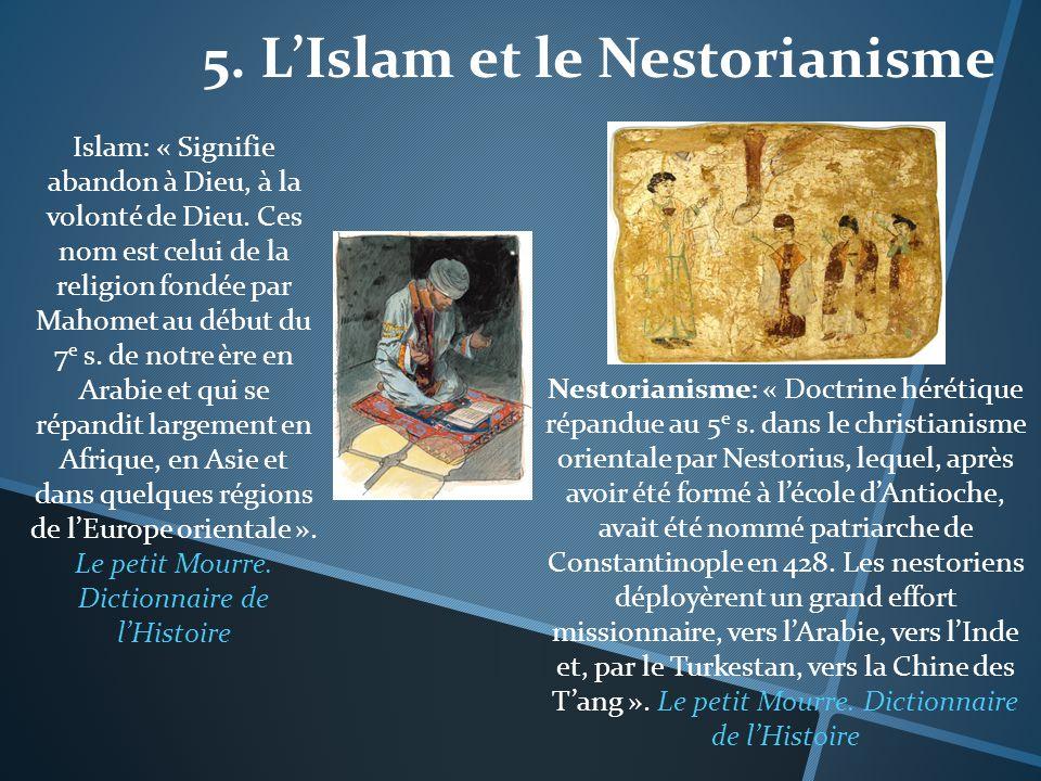5. L'Islam et le Nestorianisme