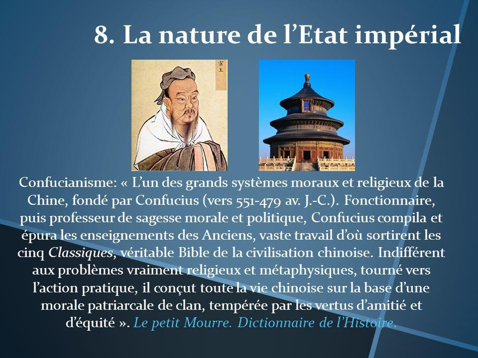 8. La nature de l'Etat impérial