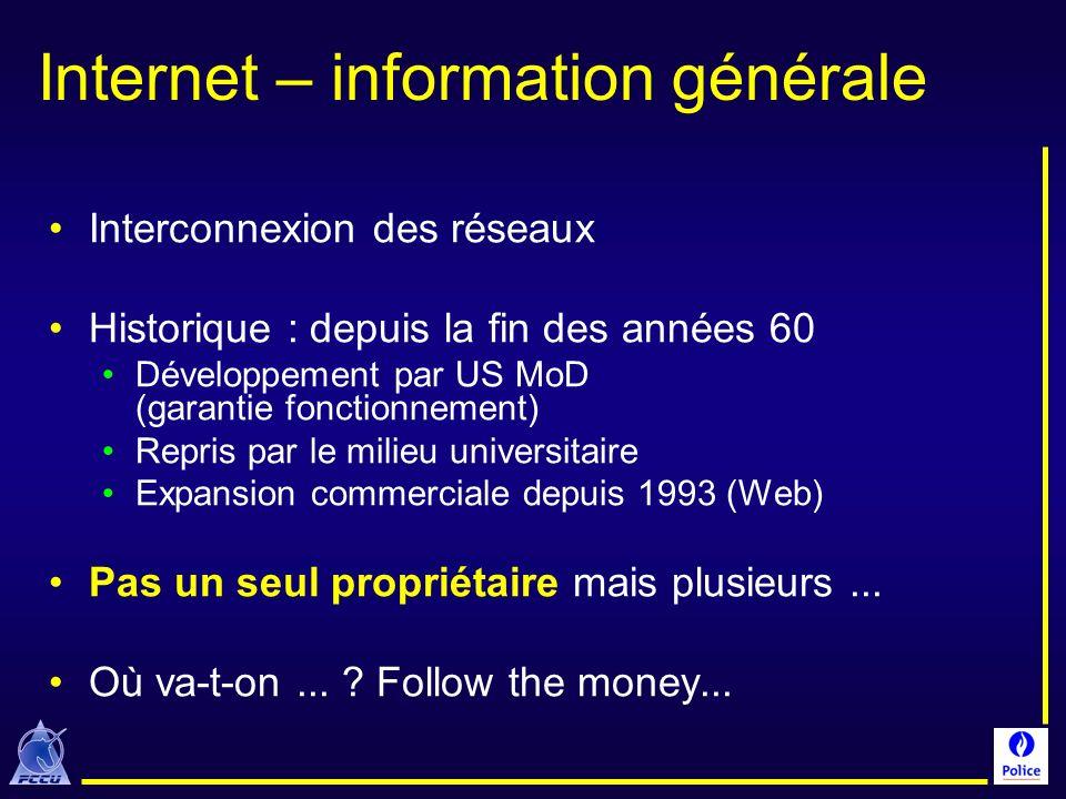 Internet – information générale
