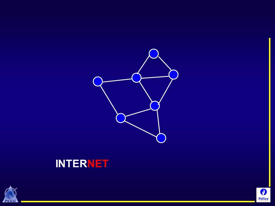 Internet contient NET = réseau, filet