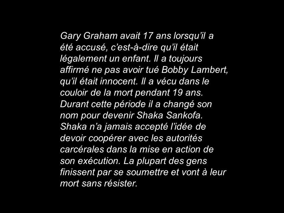 Gary Graham avait 17 ans lorsqu'il a été accusé, c'est-à-dire qu'il était légalement un enfant.