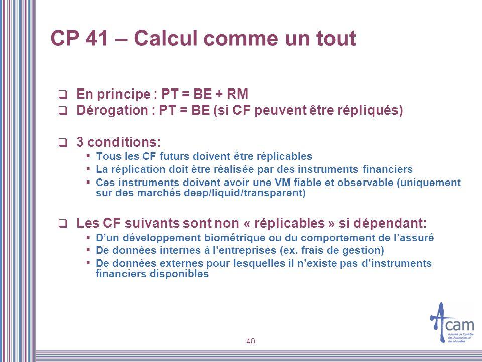 CP 41 – Calcul comme un tout