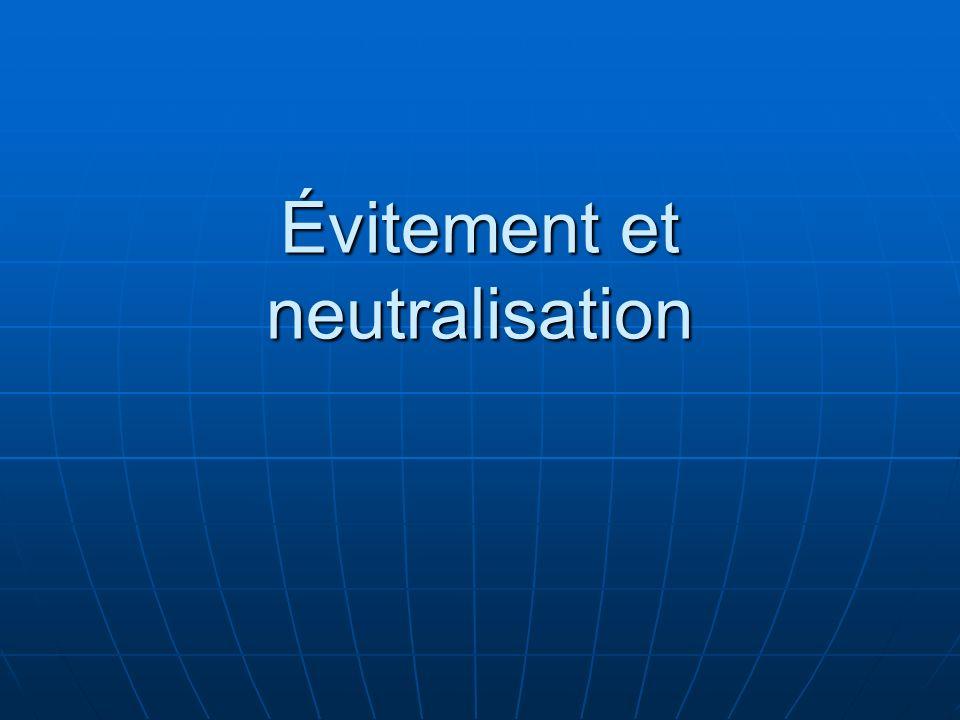 Évitement et neutralisation