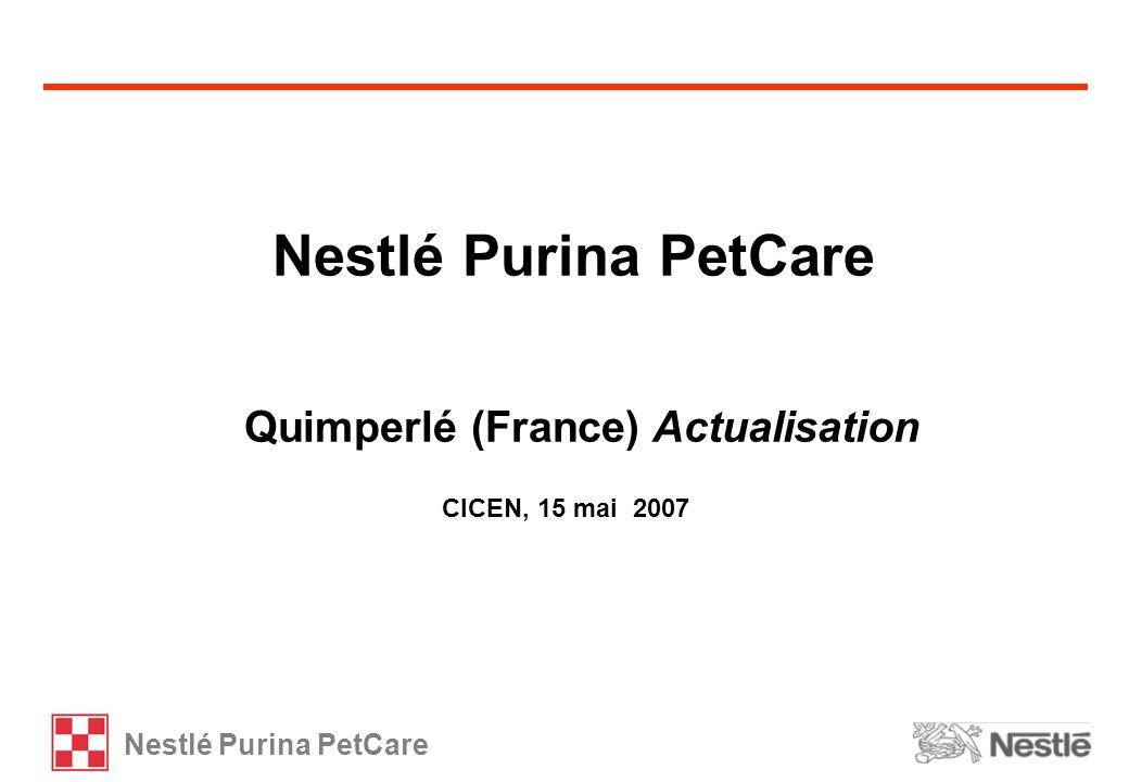 Nestlé Purina PetCare Quimperlé (France) Actualisation